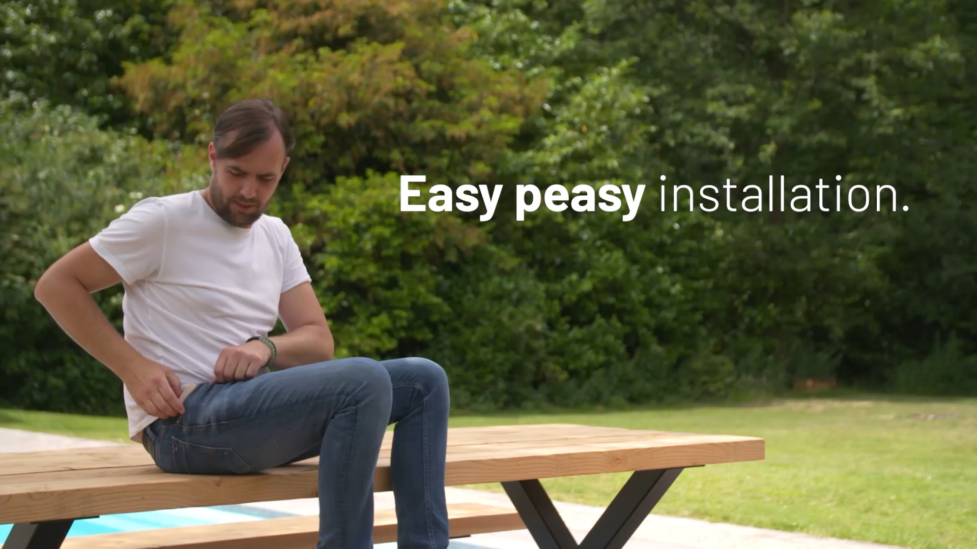 Easy peasy installation.